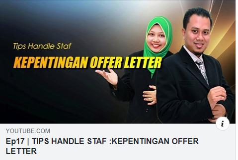 Kenapa Offer Letter penting untuk majikan