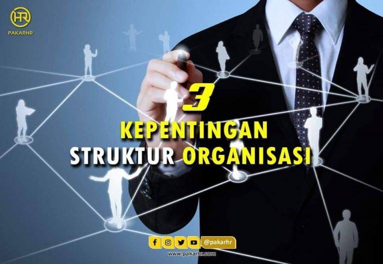 3 kepentingan struktur organisasi